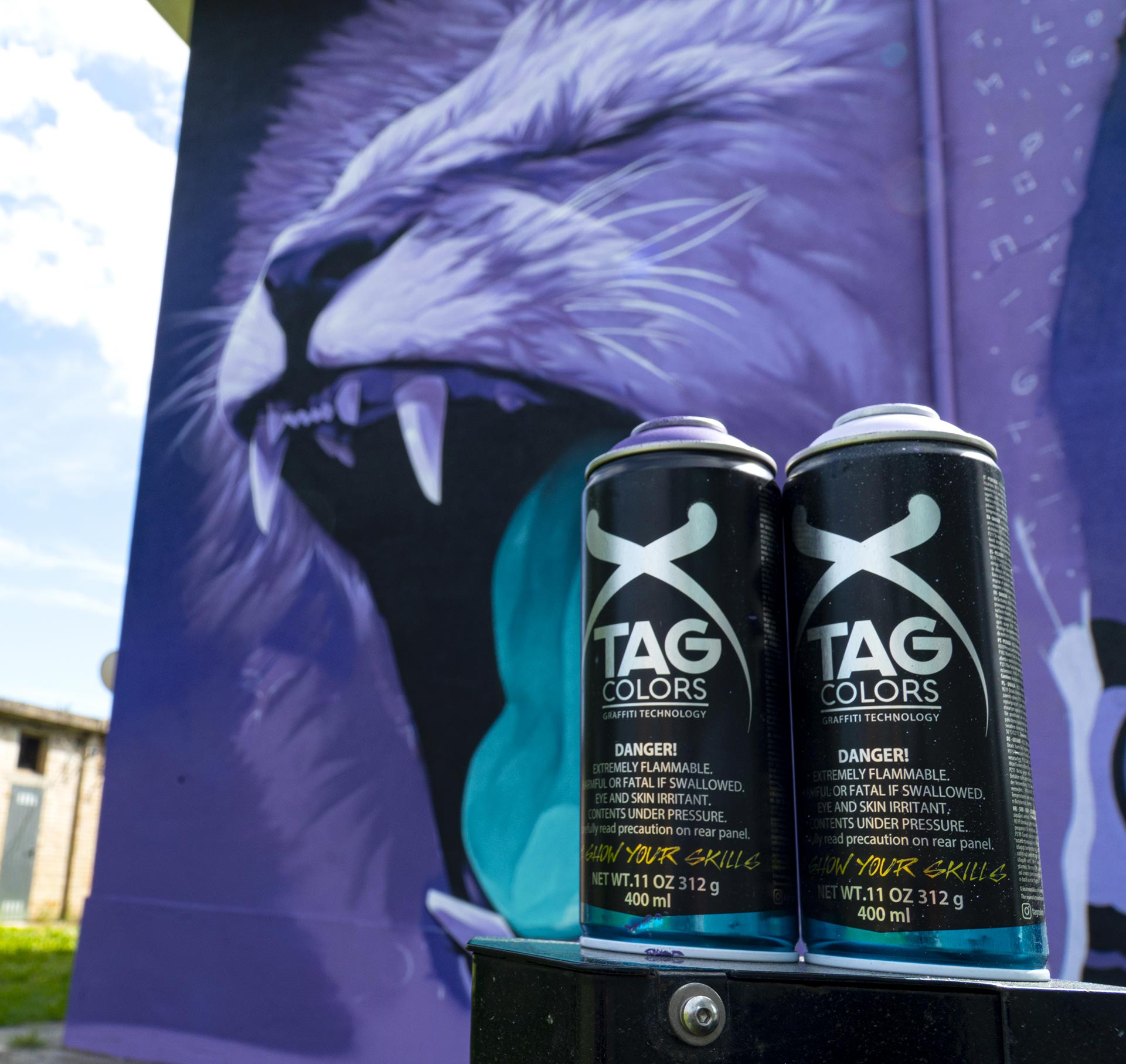 The new spray revolution of TAG Colors protagonist of ArtU Festival